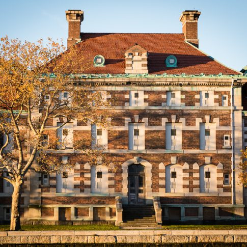Ellis Island admin b building