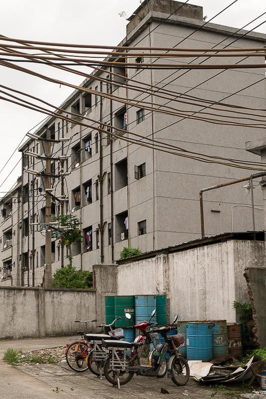Suzhou factory housing and bikes