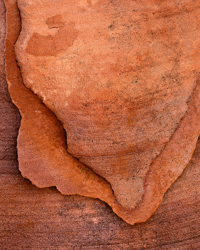 Abstract sandstone layers of the Valley of Fire