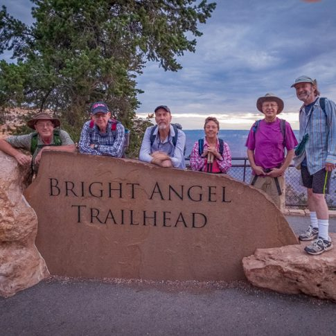 Top of Bright Angel Trail